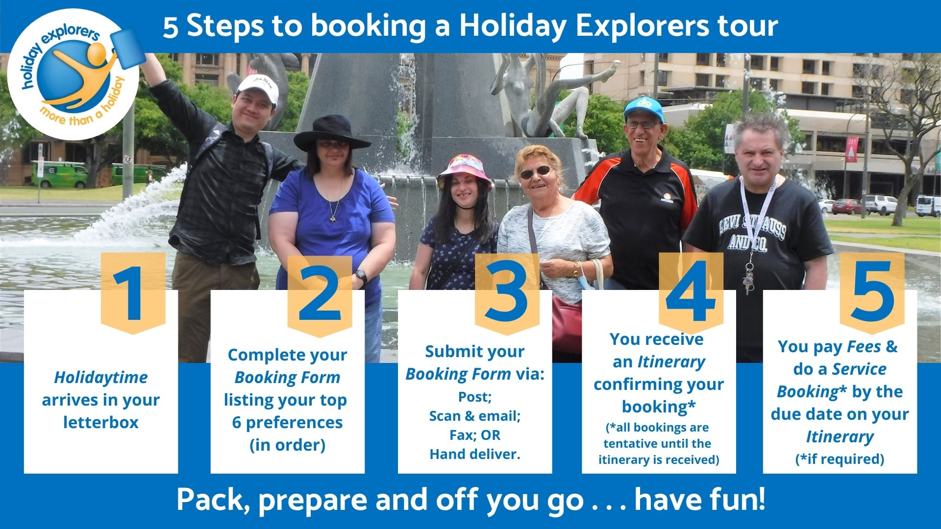 How to book a tour V3 used